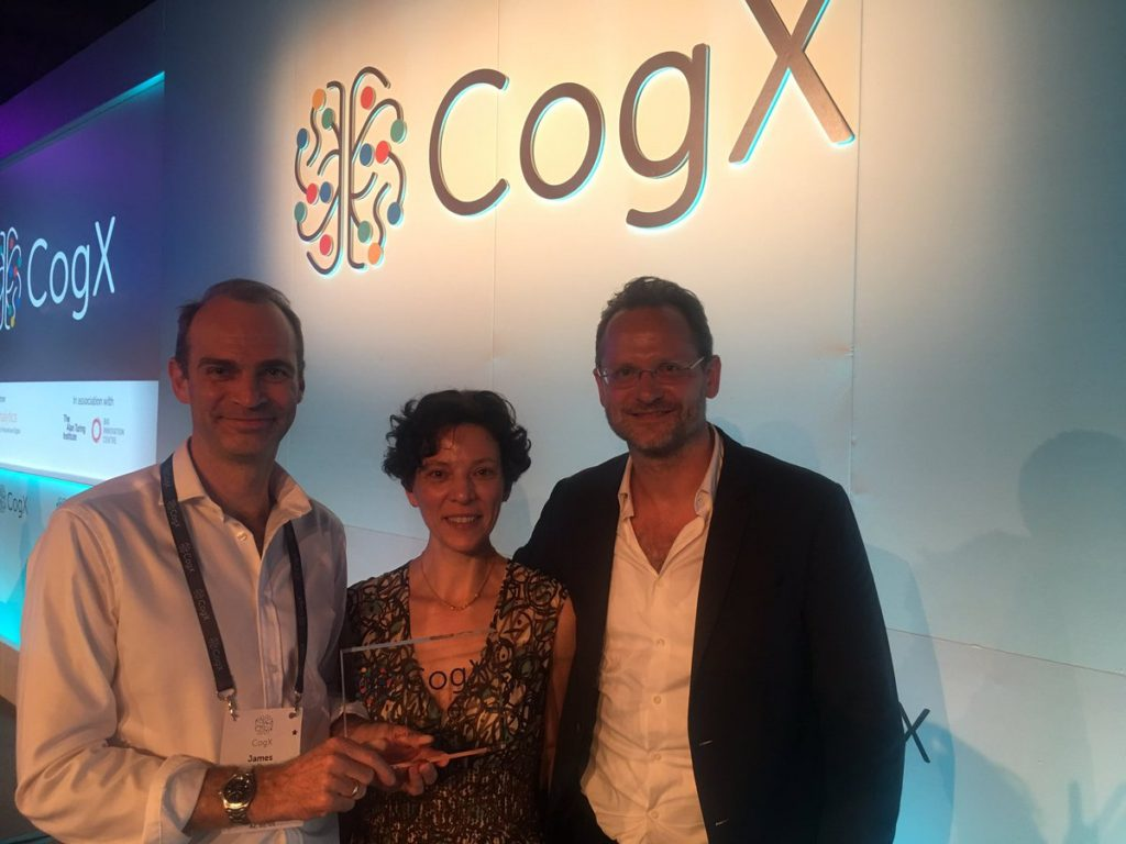Gweek wins speech performance analytics award at CognitionX AI awards