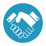 Customer led icon [Successful digital transformation]