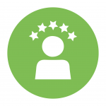 Customer experience icon [successful digital transformation]