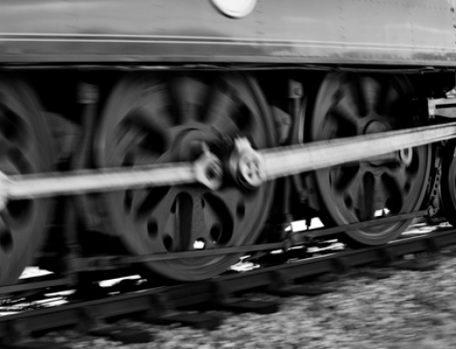 Changing the wheels, while the train is running
