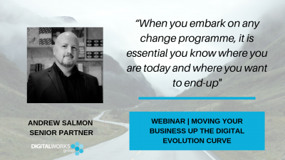 digital business education webinar: moving your business up the digital evolution curve