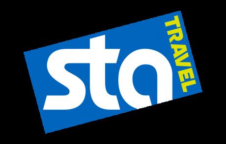 Suzie Leckie; STA travel logo