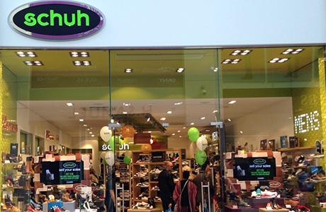 Schuh store offering great customer experience
