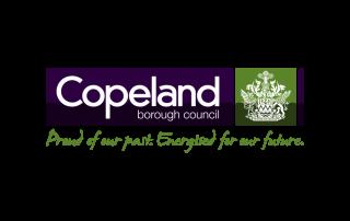 John Smithe: Copeland Borough Council Client logo