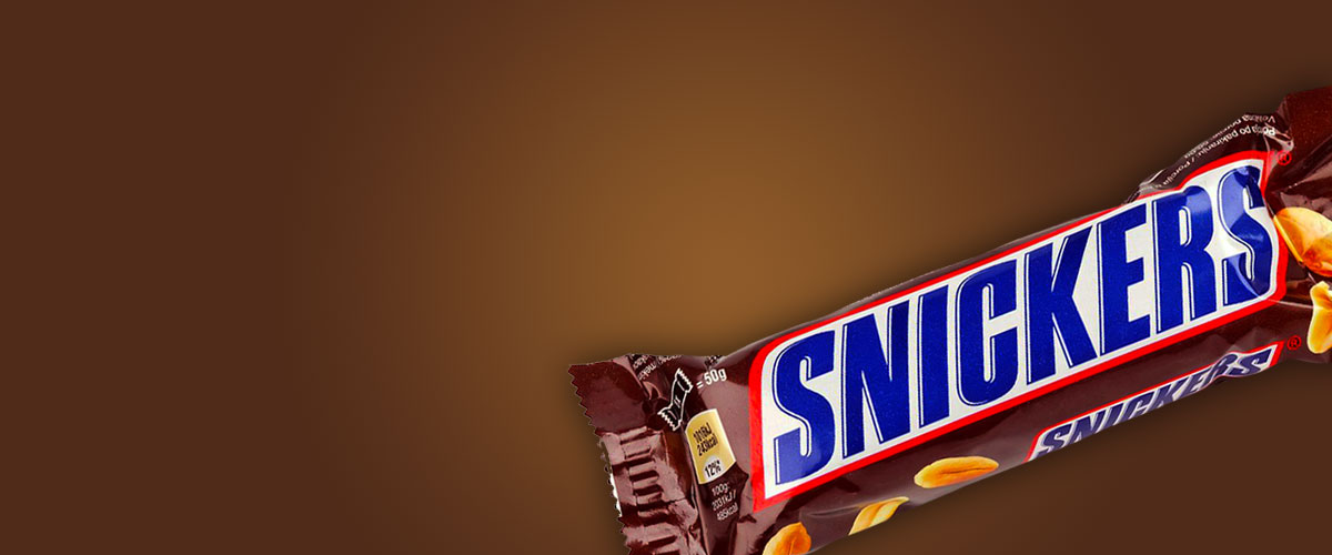 mars snickers bar