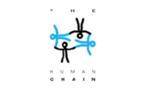 the human chain logo