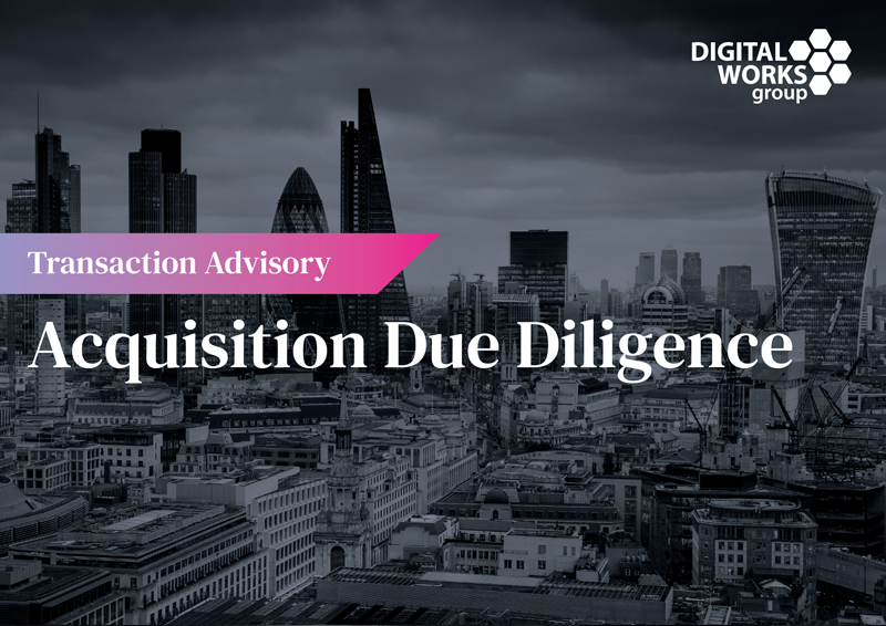 dwg private equity acquisition due diligence download