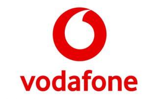 Suzie Leckie: Vodafone logo